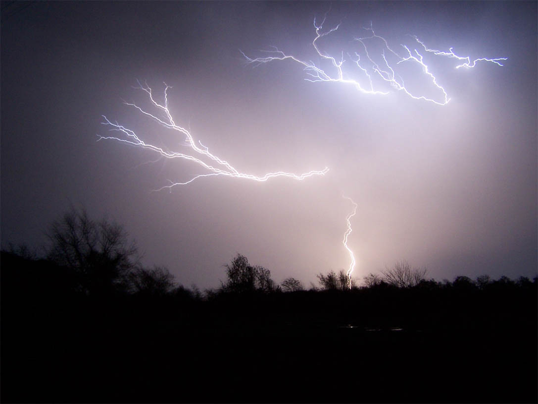 Severe Weather Thunderstorms on Lost Love Poems